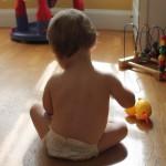 赤ちゃんの便秘を解消する4つの方法!